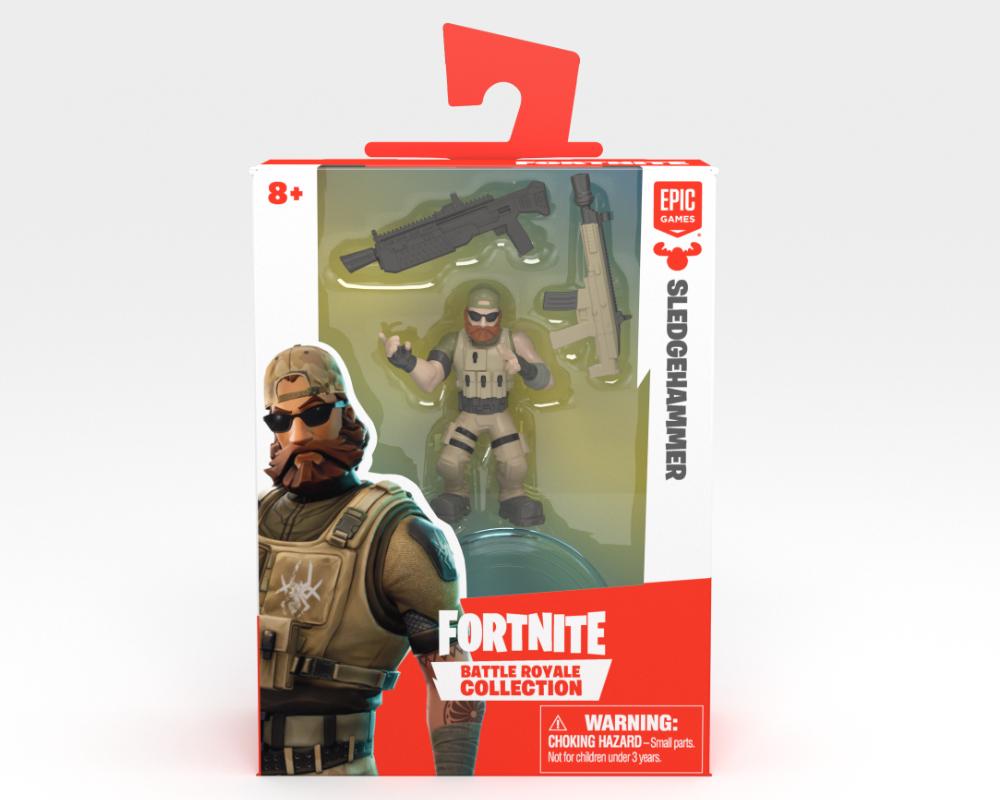 Fortnite – figurka z akcesorium - 63509-fortnite-w2-solo-fig-pack-9