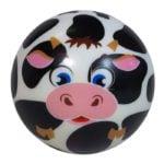 Piłka Zmyłka – Zwierzaczki, 6 ass. - pilka-zmylka-zwierzaczki-krowka-ep03449 - miniaturka