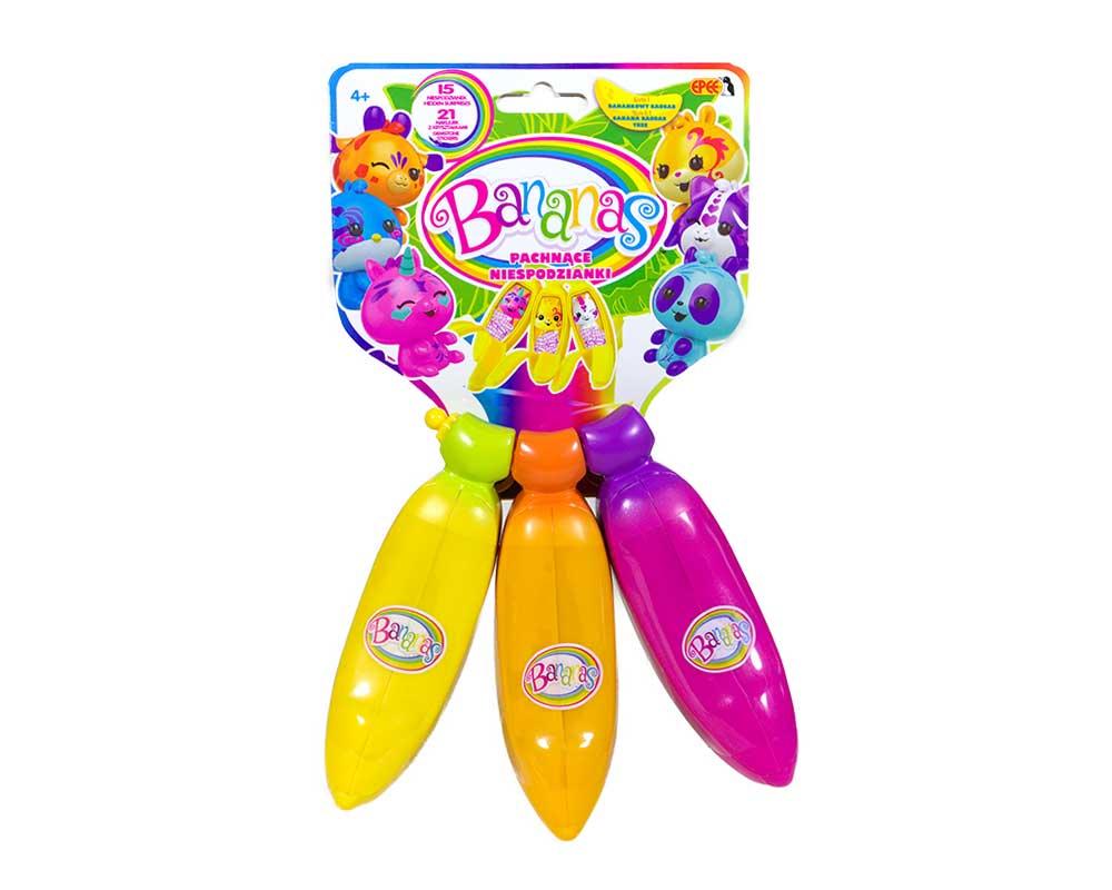 Bananas – Pachnące Niespodzianki – Figurka kolekcjonerska – 3-pack - bananas-pachnace-niespodzianki-3pack-cdu-ep03391-1