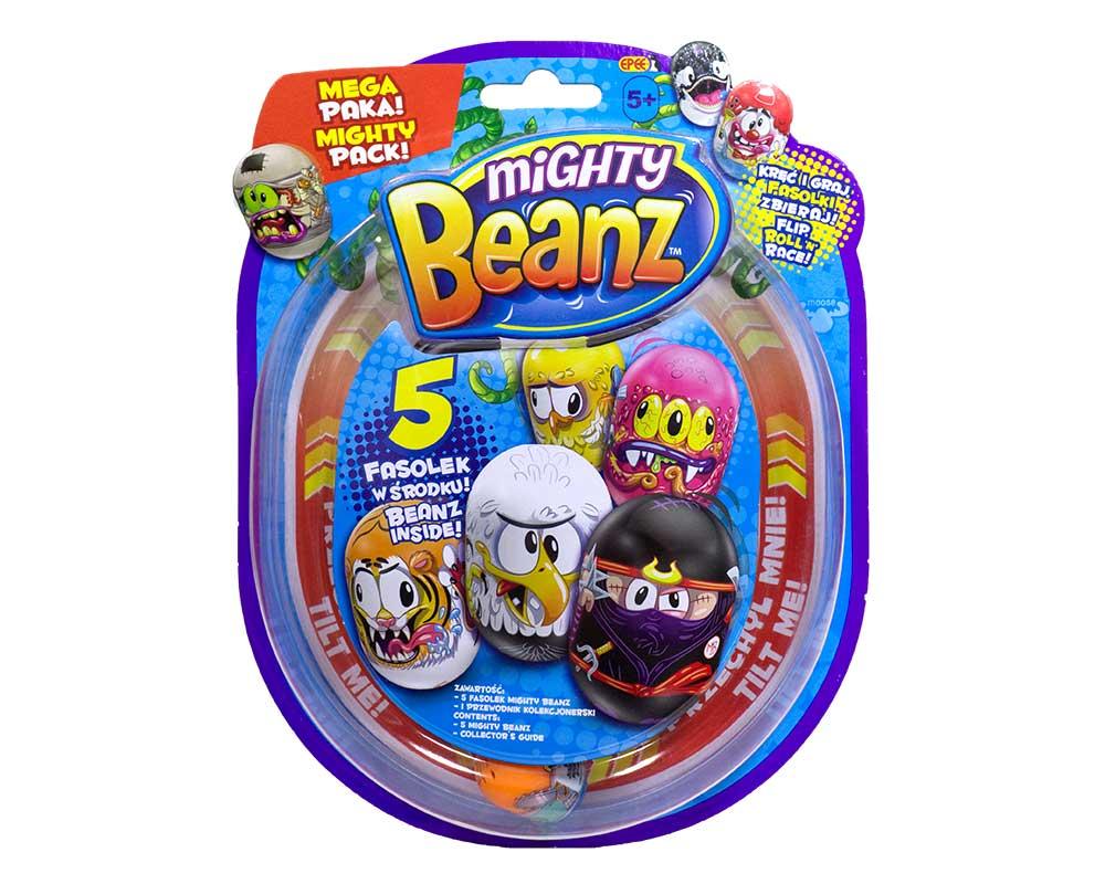 Fasolki Mighty Beanz – Blister – 5-pack - fasolki-mighty-beanz-5pack-blister-ep03379-1