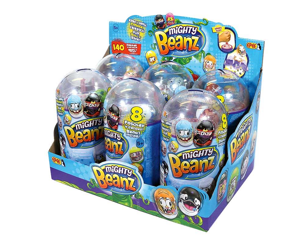 Fasolki Mighty Beanz – Boombastyczna Fasola – 8-pack - fasolki-mighty-beanz-boombastyczna-fasola-8pack-cdu-ep03380-1