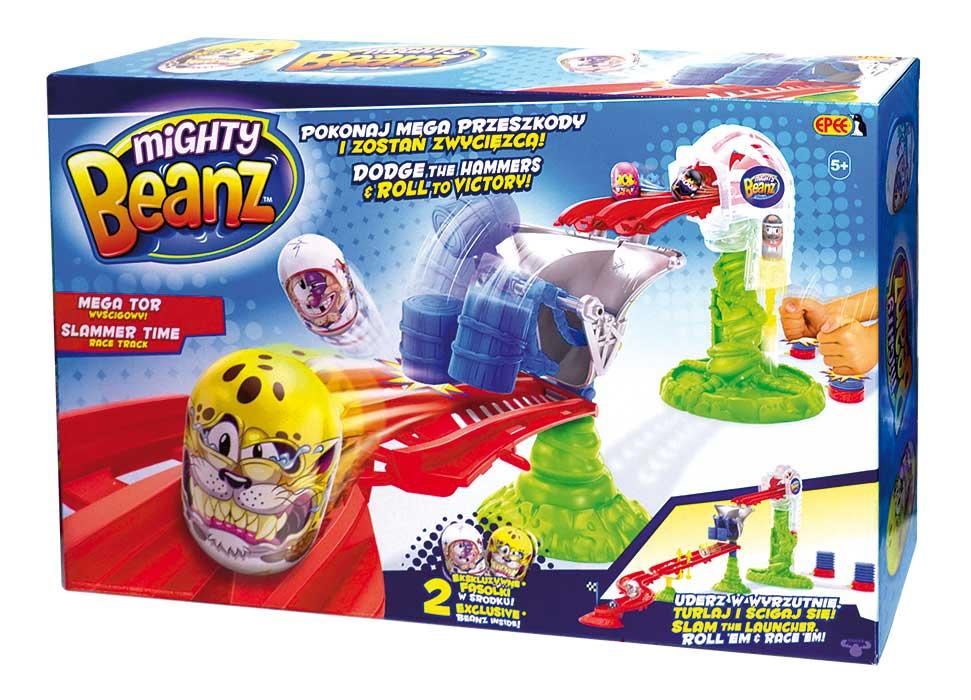 Fasolki Mighty Beanz – Mega Tor Wyścigowy z 2 fasolkami - fasolki-mighty-beanz-mega-tor-wyscigowy-2-fasolkami-ep03383