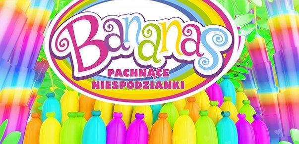 Bananas – Pachnące Niespodzianki