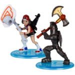Fortnite – 2-pack figurek z akcesoriami, 5 ass. - fortnite-2pack-figurek-z-akcesorium-black-knight-triple-threat-mfn63507 - miniaturka