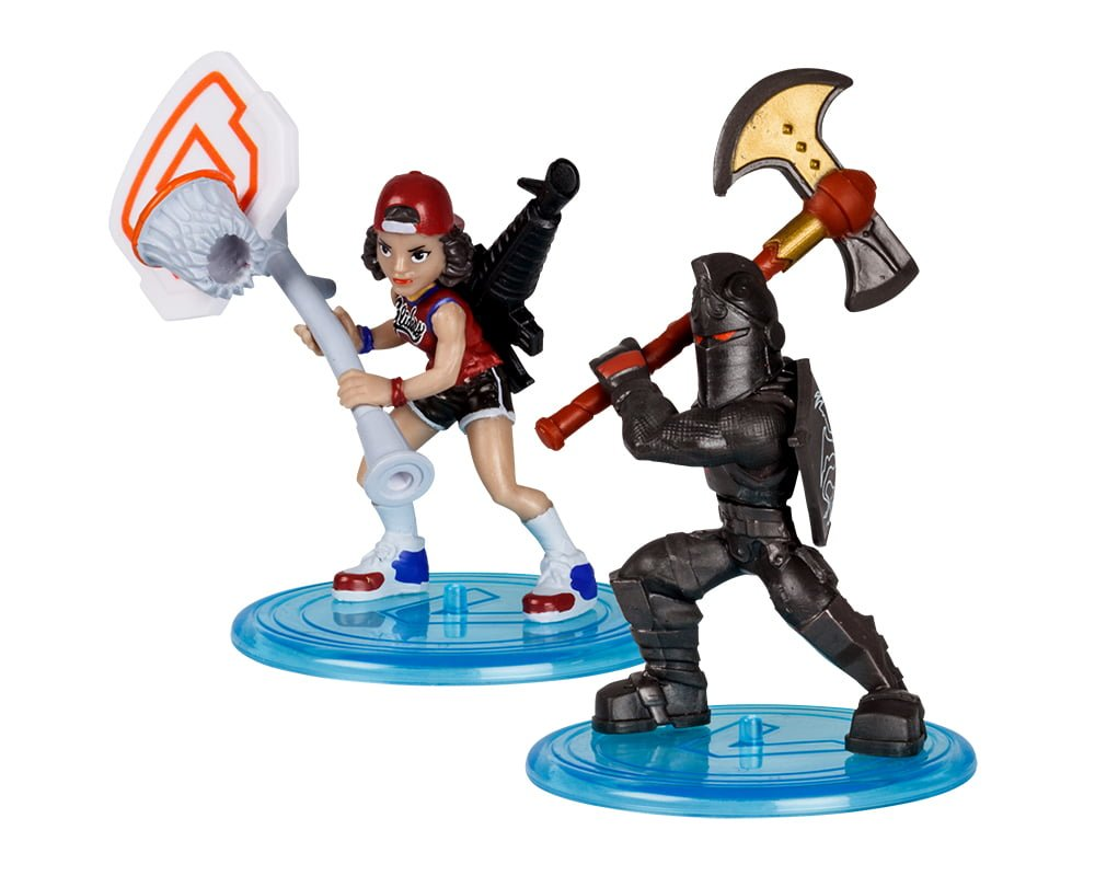 Fortnite – 2-pack figurek z akcesoriami, 5 ass. - fortnite-2pack-figurek-z-akcesorium-black-knight-triple-threat-mfn63507