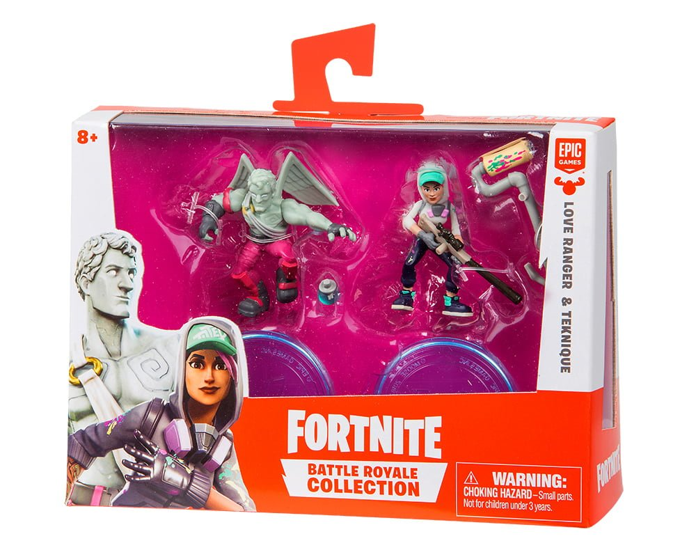 Fortnite – 2-pack figurek z akcesoriami, 5 ass. - fortnite-2pack-figurek-z-akcesorium-love-ranger-teknique-mfn63507-opakowanie