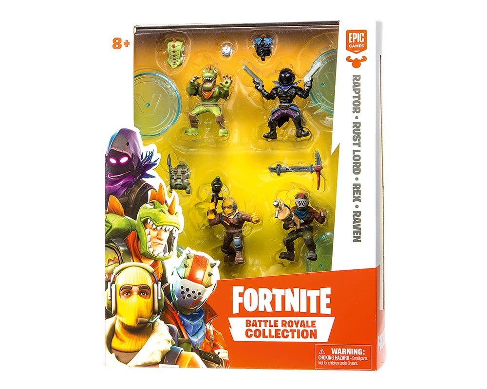 Fortnite – Legendarny Squad, 4-pack figurek z akcesoriami - fortnite-4pack-figurek-z-akcesoriami-legendary-squad-mfn63508