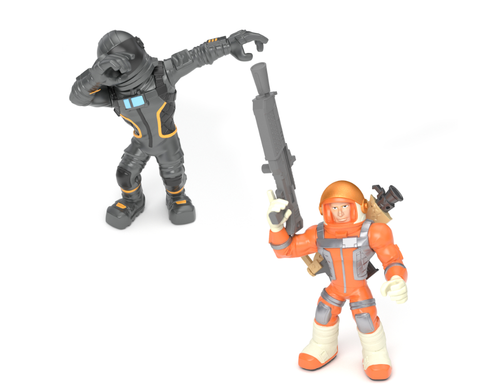 Fortnite – 2-pack figurek z akcesoriami, 14 ass. - 63507-63540-fortnite-w2-duo-pack