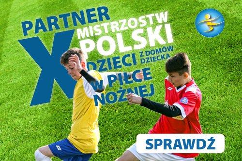 X Mistrzostwa Polski Dzieci z Domów Dziecka w Piłce Nożnej