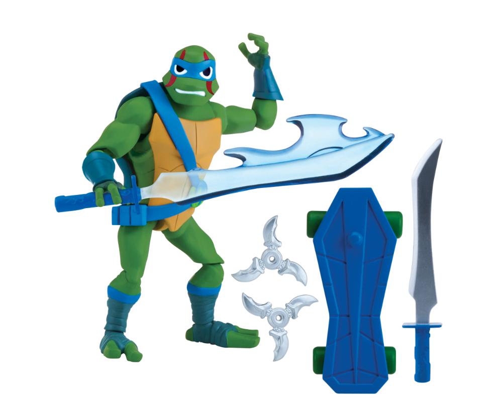 Wojownicze Żółwie Ninja: Ewolucja- figurka podstawowa - pzn80800-wojownicze-zolwie-ninja-figurka-podstawowa-leonardo-bez-opak
