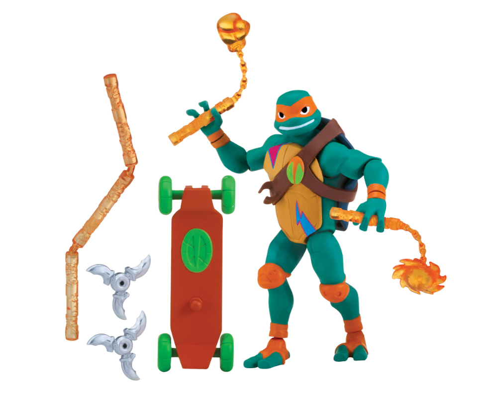 Wojownicze Żółwie Ninja: Ewolucja- figurka podstawowa - pzn80800-wojownicze-zolwie-ninja-figurka-podstawowa-michelangelo-bez-opak