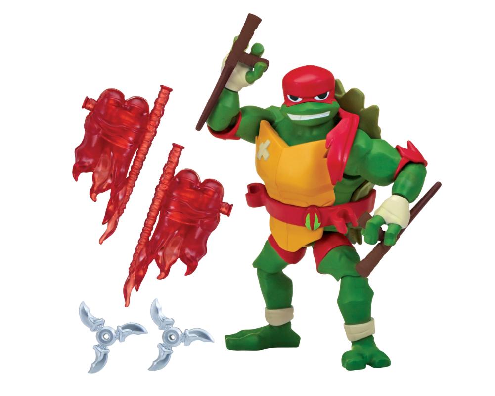 Wojownicze Żółwie Ninja: Ewolucja- figurka podstawowa - pzn80800-wojownicze-zolwie-ninja-figurka-podstawowa-raphael-bez-opak