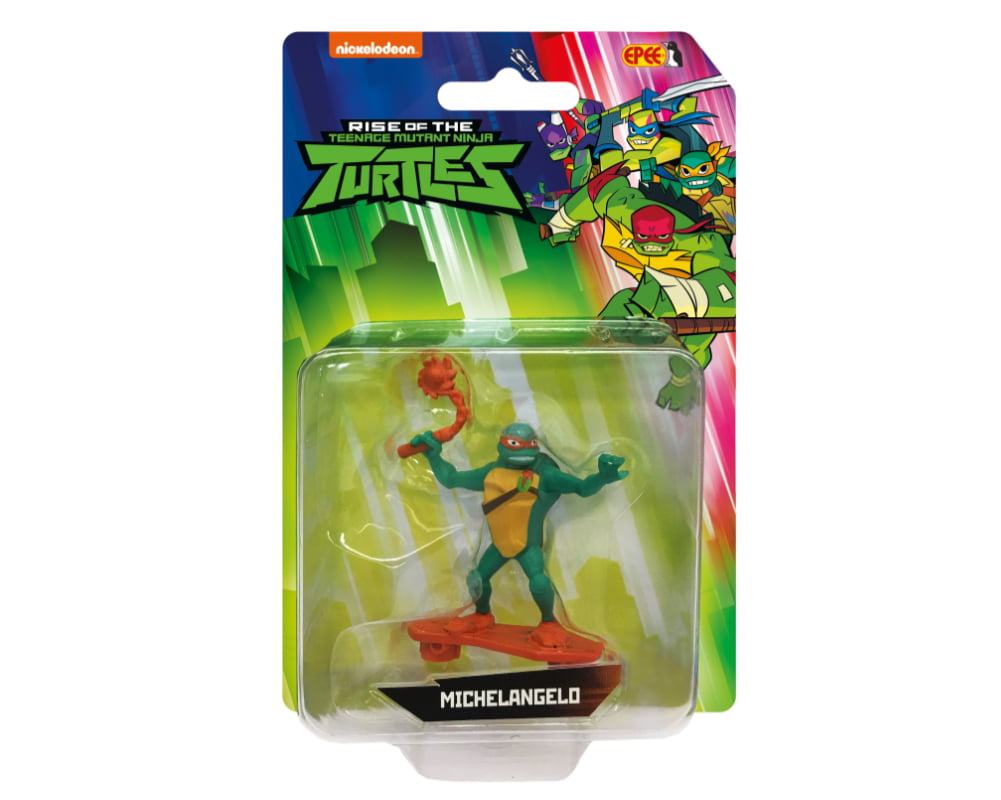 Wojownicze Żółwie Ninja: Ewolucja – Minifigurka blister - pzn81535-wojownicze-zolwie-ninja-minifigurka-blister-michelangelo-w-opak