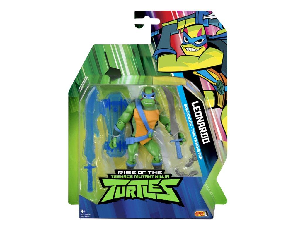 Wojownicze Żółwie Ninja: Ewolucja- figurka podstawowa - wojownicze-zolwie-ninja-figurka-podstawowa-leonardo