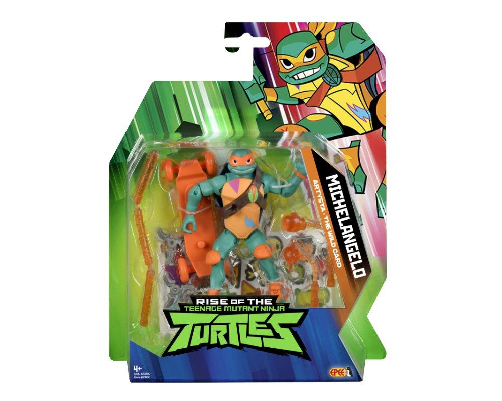 Wojownicze Żółwie Ninja: Ewolucja- figurka podstawowa - wojownicze-zolwie-ninja-figurka-podstawowa-michelangelo