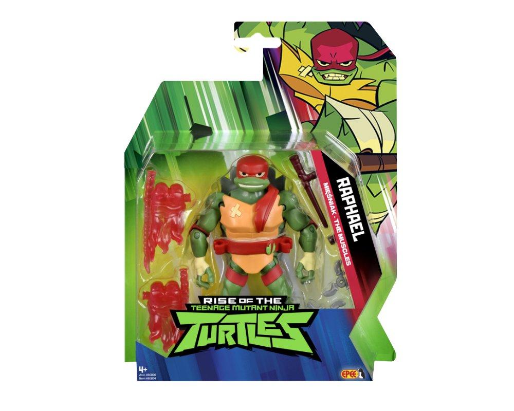 Wojownicze Żółwie Ninja: Ewolucja- figurka podstawowa - wojownicze-zolwie-ninja-figurka-podstawowa-raphael