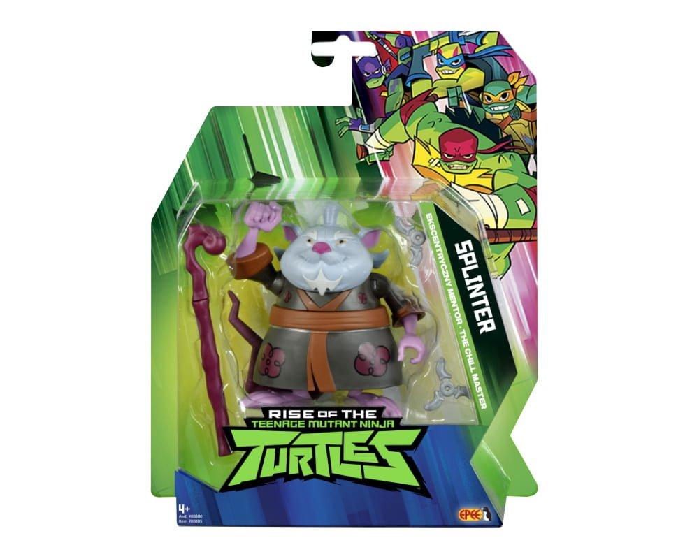 Wojownicze Żółwie Ninja: Ewolucja- figurka podstawowa - wojownicze-zolwie-ninja-figurka-podstawowa-splinter
