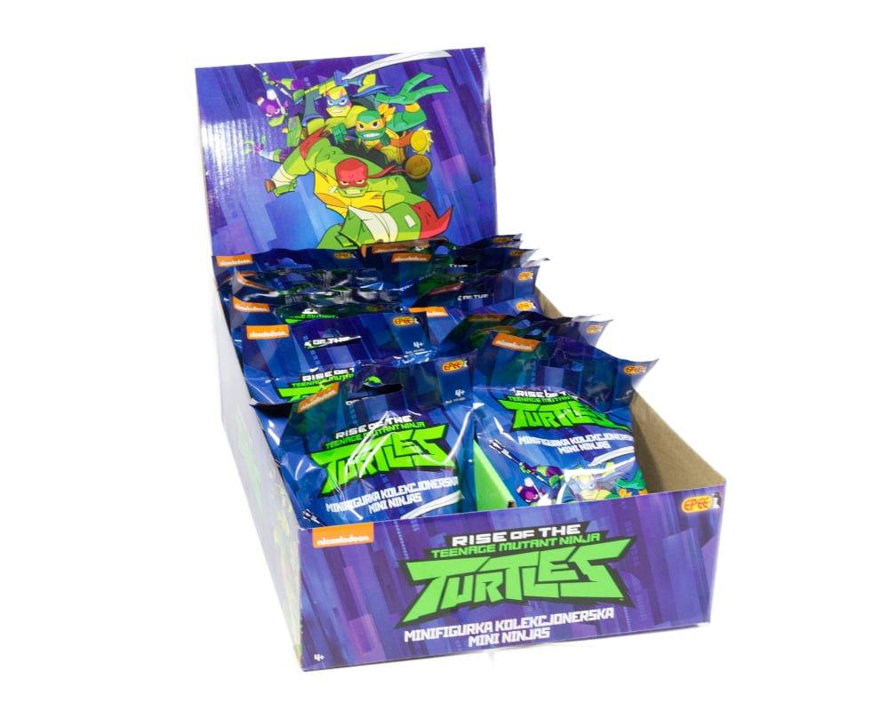Wojownicze Żółwie Ninja: Ewolucja – Minifigurka saszetka - wojownicze-zolwie-ninja-minifigurka-saszetka-cdu