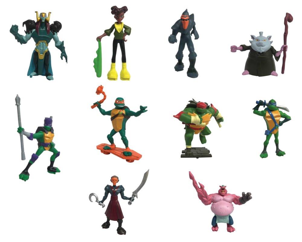 Wojownicze Żółwie Ninja: Ewolucja – Minifigurka saszetka - wojownicze-zolwie-ninja-minifigurka