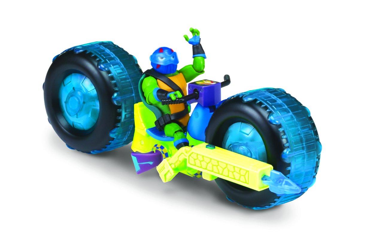 Wojownicze Żółwie Ninja: Ewolucja – Motocykl z figurką, 2 ass. - wojownicze-zolwie-ninja-motocykl-z-figurka-leonardo-2