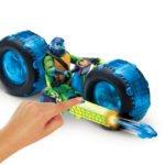Wojownicze Żółwie Ninja: Ewolucja – Motocykl z figurką, 2 ass. - wojownicze-zolwie-ninja-motocykl-z-figurka-zabawa-leonardo-2 - miniaturka