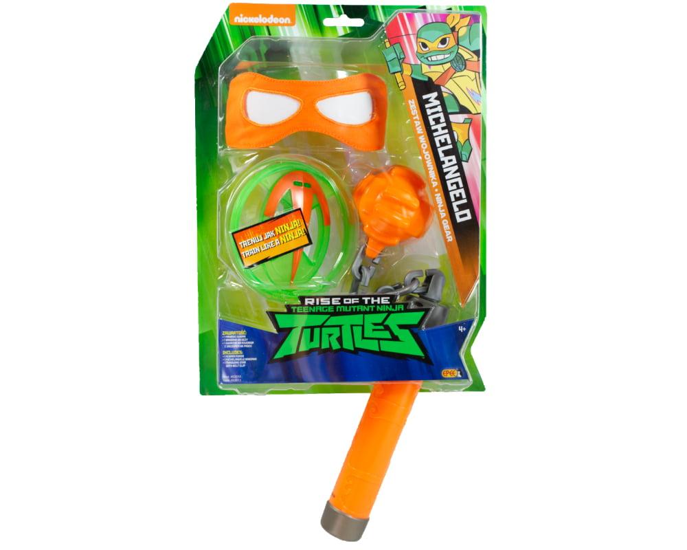 Wojownicze Żółwie Ninja: Ewolucja – Zestaw wojownika - wojownicze-zolwie-ninja-zestaw-wojownika-michelangelo-pzn82050