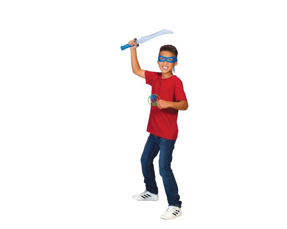 Wojownicze Żółwie Ninja: Ewolucja – Zestaw wojownika - wojownicze-zolwie-ninja-zestaw-wojownika-zabawa-leo