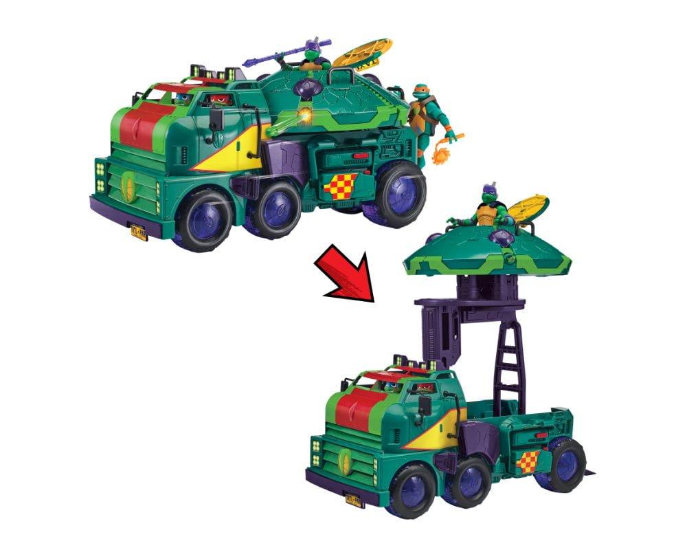 Wojownicze Żółwie Ninja: Ewolucja – Żółwioczołg, Mobilne Centrum Operacyjne  2 w 1 - zolwioczolg-zabawa-transformacja