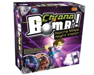 Chrono Bomb – Nocna Misja – Zabawka interaktywna