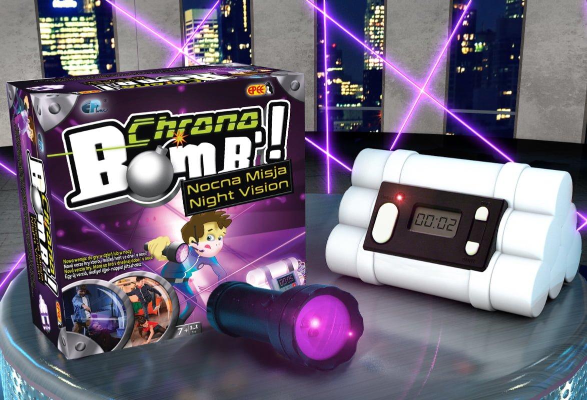 Chrono Bomb – Nocna Misja – Zabawka interaktywna - chrono-bomb-nocna-misja-zestaw-2