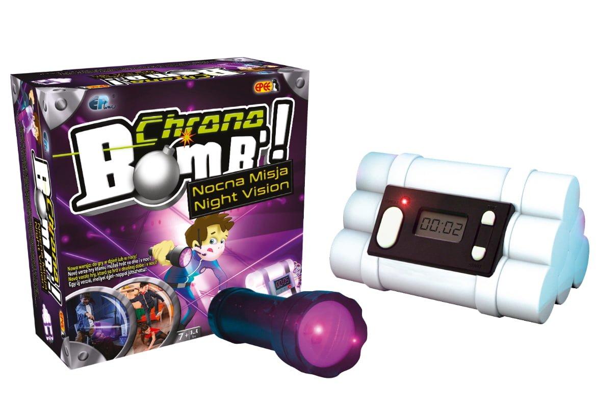 Chrono Bomb – Nocna Misja – Zabawka interaktywna - chrono-bomb-nocna-misja-zestaw
