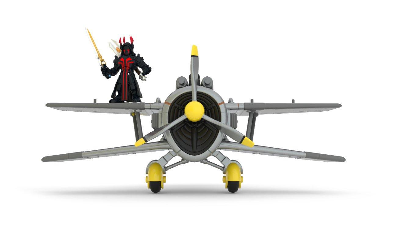 Fortnite – Burzolot, zestaw z figurką i 2 akcesoriami - 63610-fn-s1-2in-fig-x-4-stormwing-pk