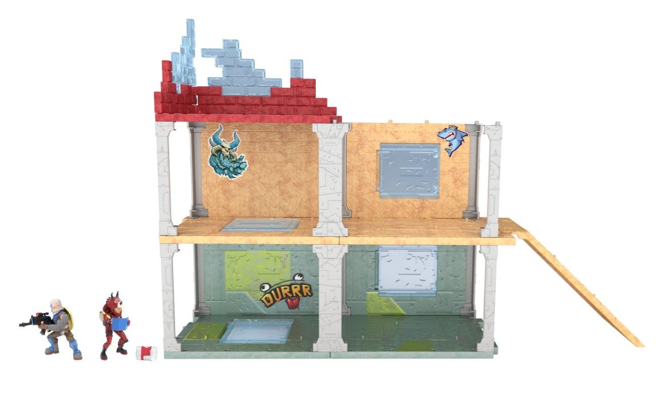 Fortnite – Mega Fort, zestaw z 2 figurkami i 4 akcesoriami - fortnite-zestaw-mega-fort-bez-opakowania