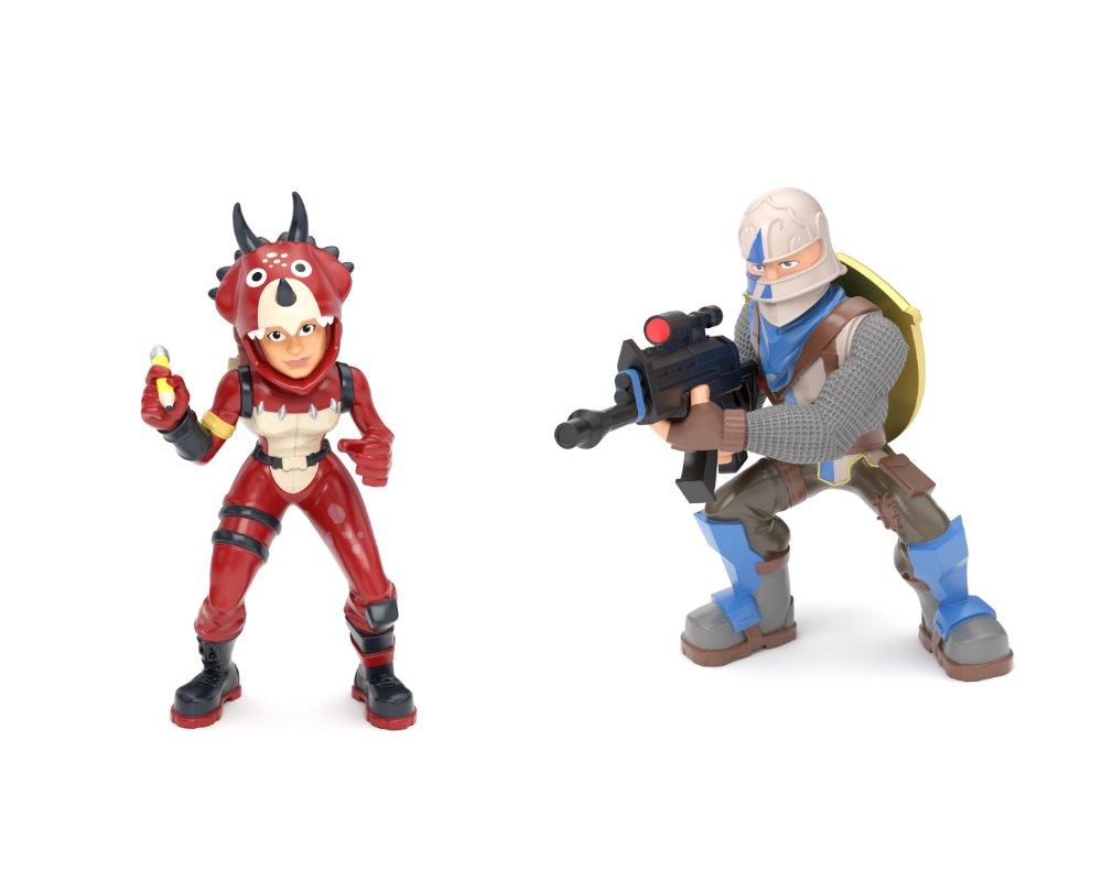 Fortnite – Mega Fort, zestaw z 2 figurkami i 4 akcesoriami - fortnite-zestaw-mega-fort-figurki