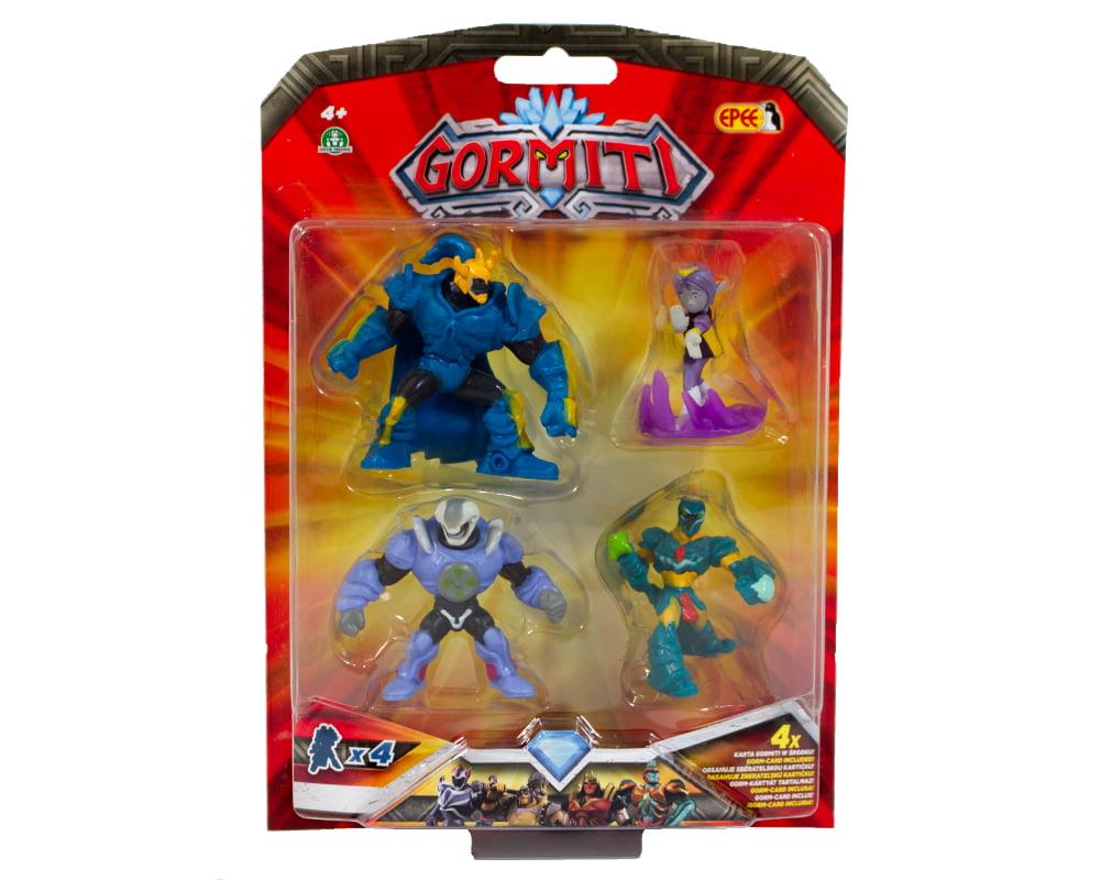 Gormiti – 4-pack figurek 5cm - gormiti-4-pack-opak-gpgrm10