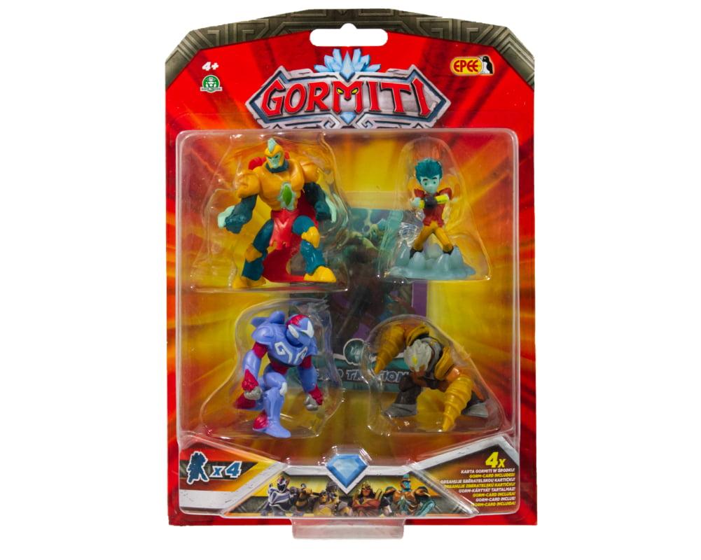 Gormiti – 4-pack figurek 5cm - gormiti-4-pack-opak2-gpgrm10
