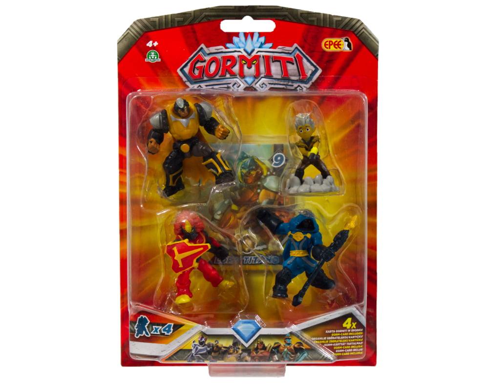 Gormiti – 4-pack figurek 5cm - gormiti-4-pack-opak3-gpgrm10