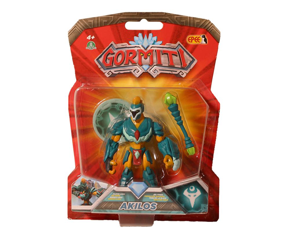 Gormiti – Figurka podstawowa 8 cm, 10 ass. - gpgrm01-gormiti-figurka-podstawowa-8cm-akilos-w-opak