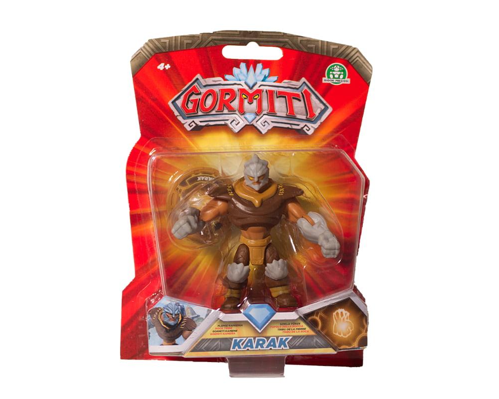 Gormiti – Figurka podstawowa 8 cm, 10 ass. - gpgrm01-gormiti-figurka-podstawowa-8cm-karak-w-opak