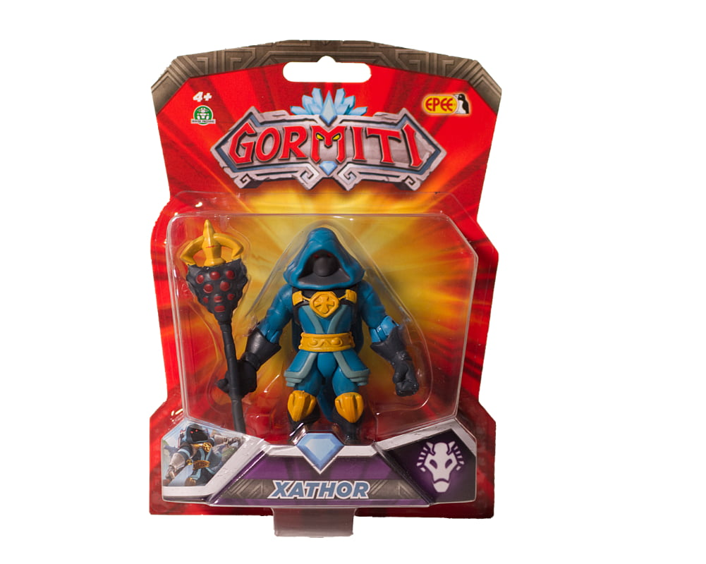 Gormiti – Figurka podstawowa 8 cm, 10 ass. - gpgrm01-gormiti-figurka-podstawowa-8cm-xathor-w-opak