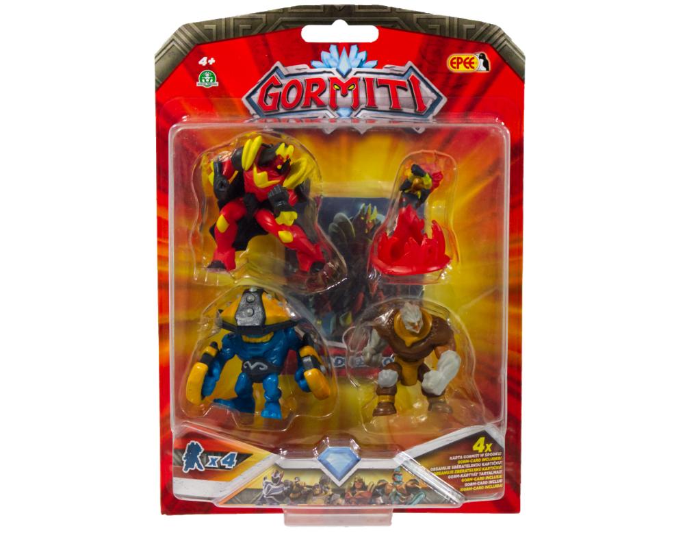 Gormiti – 4-pack figurek 5cm - gpgrm10-gormiti-4pack-figurek-5cm-w-opak-5