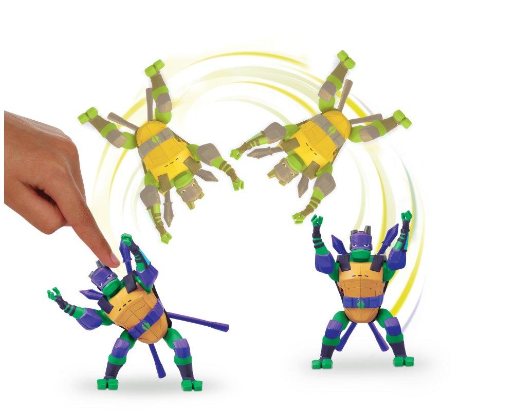 Wojownicze Żółwie Ninja: Ewolucja – Figurka akcyjna - figurka-akcyjna-15cm-z-dzwiekie-donatello-atak