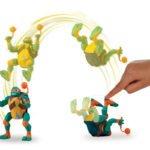 Wojownicze Żółwie Ninja: Ewolucja – Figurka akcyjna - figurka-akcyjna-15cm-z-dzwiekie-michaelangelo-atak - miniaturka