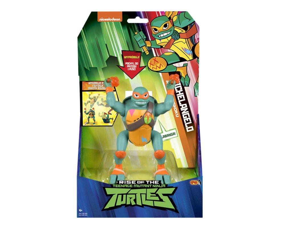 Wojownicze Żółwie Ninja: Ewolucja – Figurka akcyjna - figurka-akcyjna-15cm-z-dzwiekie-michaelangelo-opakowanie