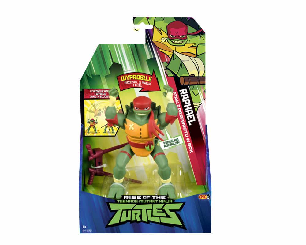 Wojownicze Żółwie Ninja: Ewolucja – Figurka akcyjna - figurka-akcyjna-z-dzwiekiem-opakowanie-raphael