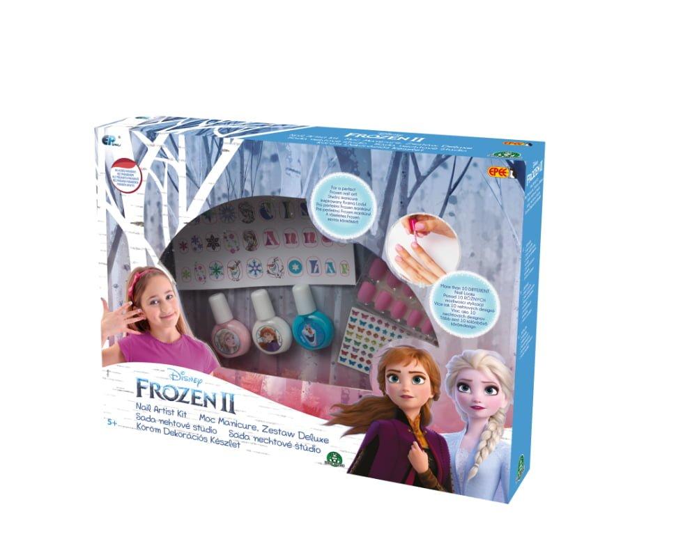 Frozen 2 – Kraina Lodu – Moc Manicure DELUXE - frozen-ii-moc-manicure-deluxe-opakowanie