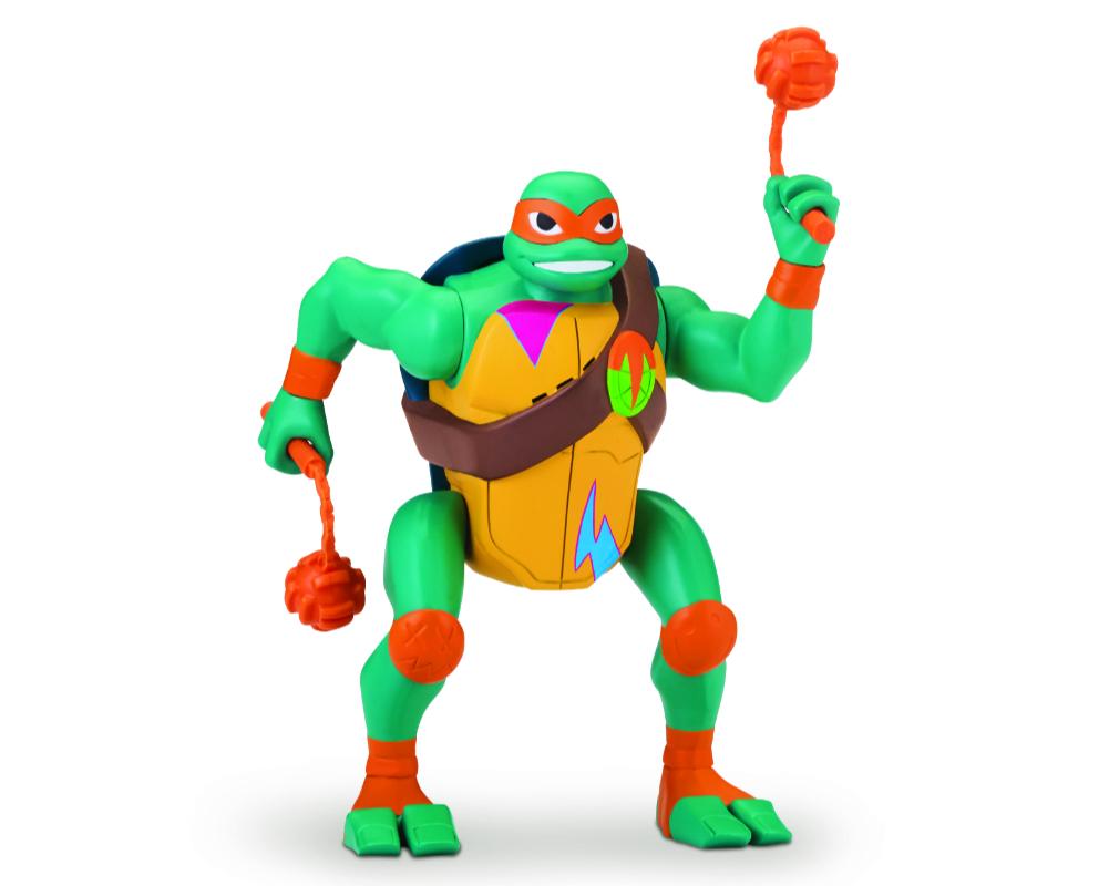 Wojownicze Żółwie Ninja: Ewolucja – Figurka akcyjna - pzn81400-wojownicze-zolwie-ninja-figurka-akcyjna-michelangelo-bez-opak