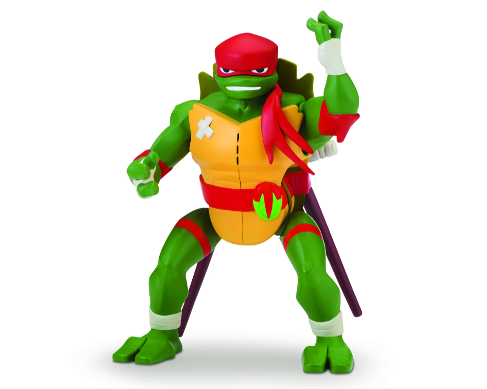 Wojownicze Żółwie Ninja: Ewolucja – Figurka akcyjna - pzn81400-wojownicze-zolwie-ninja-figurka-akcyjna-raphael-bez-opak