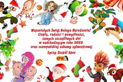 Życzenia świąteczne od Epee