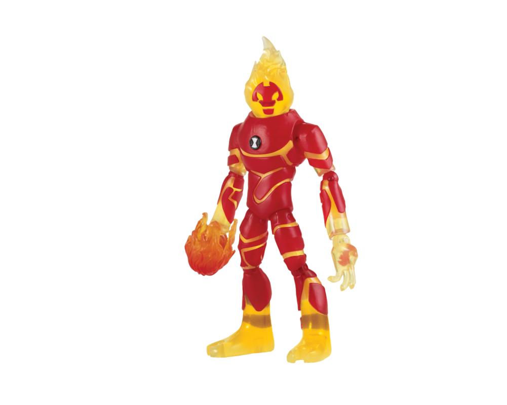 Ben 10 – Figurka podstawowa z akcesoriami 13 cm W7, 14 ass. - ben39610-ben10-figurka-podstawowa-inferno